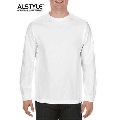 Alystle  Adult Long Sleeve Tee White